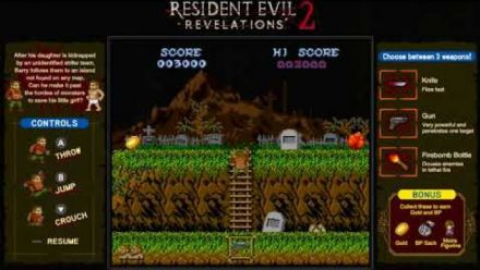 Vid�o : Resident Evil Revelations 2 : Ghouls 'n Homunculi
