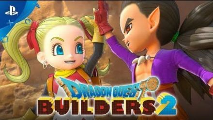 Dragon Quest Builders 2 - Girl Builder Opening Movie | PS4