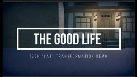 vidéo : The Good Life : Transformation en chat