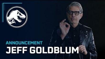Vid�o : Jurassic World Evolution : Jeff Goldblum s'annonce
