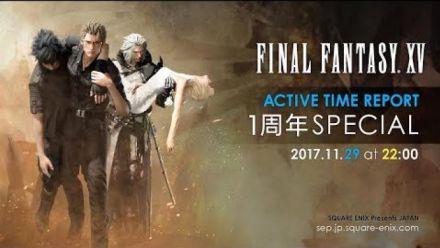 Vid�o : FFXV : Active Time Report 29 novembre 2017