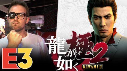 E3 2018 : On a joué à Yakuza Kiwami 2 sur PS4 Pro et c'est Yakuza 2 en mieux