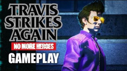 Travis Strikes Again : No More Heroes : Gameplay de la GDC 2018
