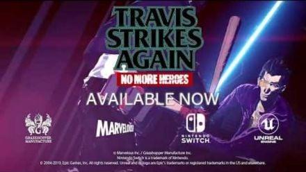 Vidéo : Travis Strikes Again sort son trailer de Lancement