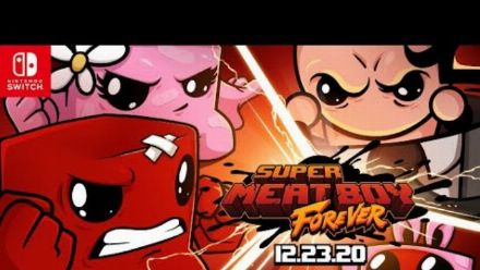 Vid�o : Super Meat Boy Forever dispo sur Switch et Epic Games Store