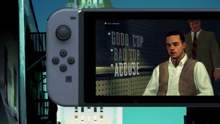 Vid�o : L.A. Noire Nintendo Switch : Trailer