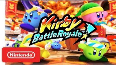 Vidéo : Kirby Battle Royale : Annonce Nintendo Direct