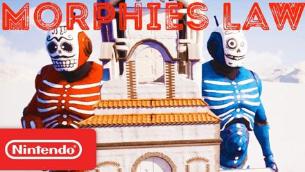 Vid�o : Morphies Law : le trailer Nintendo Direct