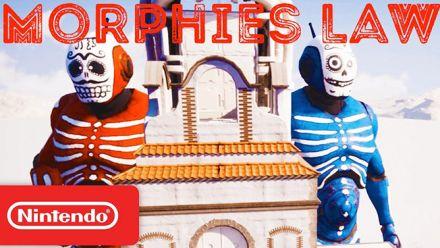 Vid�o : Morphies Law : le trailer Nintendo Direct