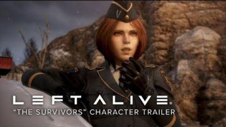 Vidéo : Left Alive : Les survivants - trailer personnages