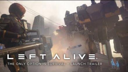 Vidéo : Left Alive : Trailer de lancement