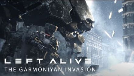 "Vidéo : Left Alive - Trailer ""Garmoniyan Invasion"""