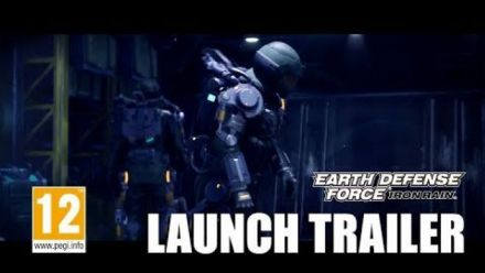 Earth Defense Force Iron Rain - Trailer de lancement