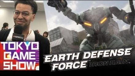 TGS 2018 : Rudy donne tout sur Earth Defense Force Iron Rain