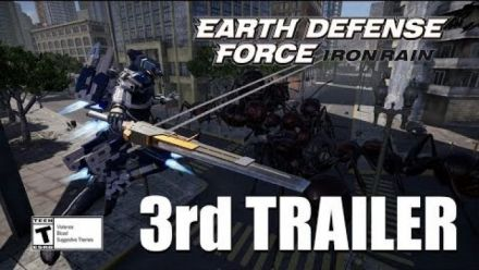 Earth Defense Force Iron Rain : Troisième trailer