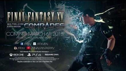 Vid�o : Final Fantasy XV Comrades 1.2