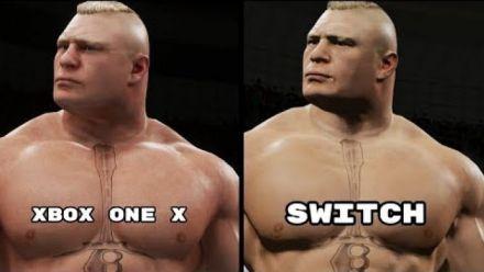 Vid�o : WWE 2K18 : Version Switch vs version Xbox One X