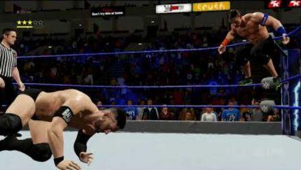Vid�o : WWE 2K18 : Gameplay version Switch