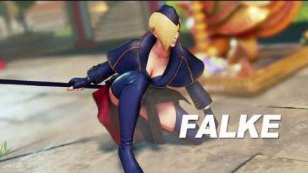 Vid�o : Street Fighter V : Trailer Falke