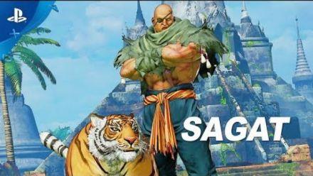 vidéo : Street Fighter V : Sagat Gameplay trailer