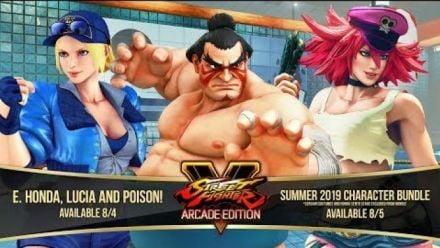 Vid�o : Street Fighter V : Honda, Lucia et Poison