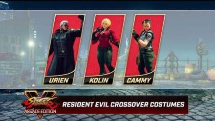 Vidéo : Street Fighter V : Trailer des costumes de Resident Evil