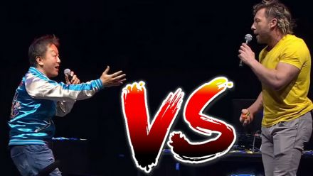 Vid�o : Yoshinori Ono vs Kenny Omega à la Capcom Cup 2019