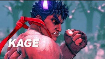 Vidéo : Street Fighter V: Arcade Edition - Kage Reveal Trailer