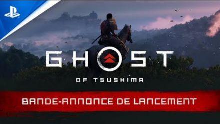 vidéo : Ghost of Tsushima | Bande-annonce de lancement - VF - 4K