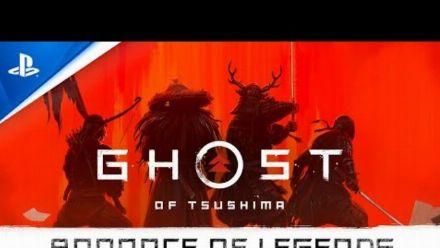 Vid�o : Ghost of Tsushima : Legends   Bande-annonce de révélation