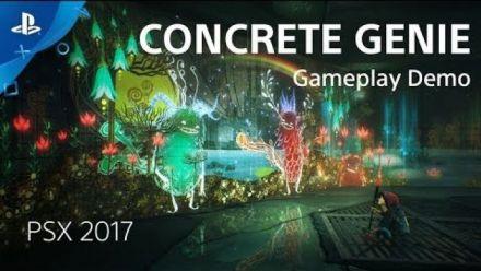 Vidéo : PSX 2017 : Concrete Genie en 10 minutes de gameplay