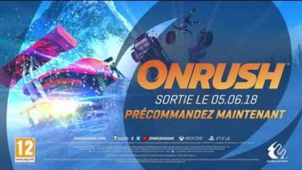 Vid�o : Onrush : Teaser Trailer Date de sortie