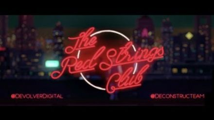 The Red Strings Club : Trailer d'annonce