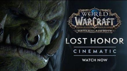 """Vid�o : WoW : Cinematique """"Lost Honor"""" Les Flots de la Vengeance"""