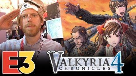 E3 2018 : On a joué à Valkyria Chronicles 4, nos impressions en première ligne
