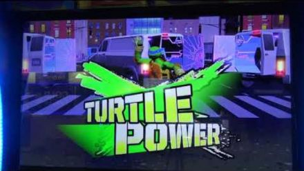Vidéo : Teenage Mutant Ninja Turtles Arcade : New York level