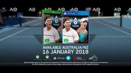 Vidéo : AO Tennis : Trailer d'annonce
