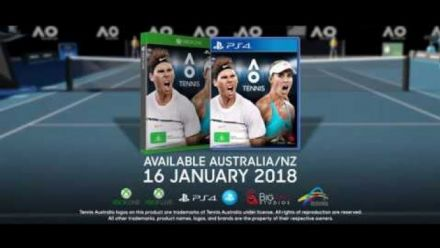 Vid�o : AO Tennis : Trailer d'annonce