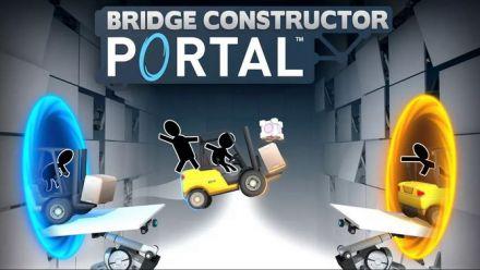 Vidéo : Bridge Constructor Portal : Trailer d'annonce