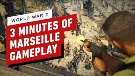 Vid�o : World War Z: 3 Minutes of Marseille Gameplay (IGN)