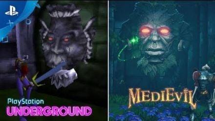 Vid�o : MediEvil : 1998 vs. 2019 Gameplay