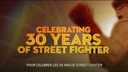 Vid�o : Street Fighter 30th Anniversary : Trailer d'annonce
