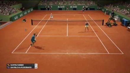 Vidéo : AO Tennis montre plus de gameplay avant sa sortie en France