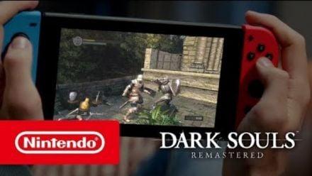 Vid�o : Dark Souls: Remastered - Gardez votre calme (Nintendo Switch)