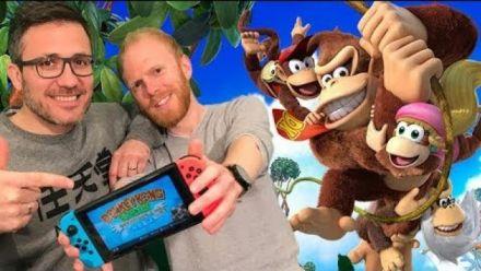 Vid�o : Julo et Thomas vous présentent Donkey Kong Country Tropical Freeze sur Switch !