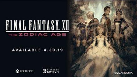 Vid�o : Final Fantasy XII - The Zodiac Age : Trailer Switch et Xbox One