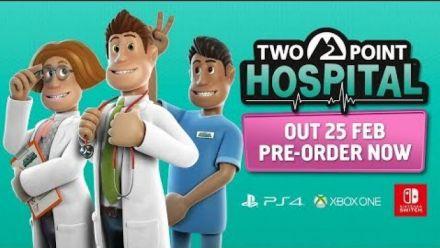 Two Point Hospital date de sortie consoles
