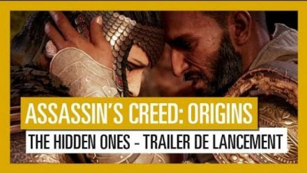 Vidéo : AC Origins : The Hidden Ones, trailer de lancement
