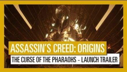 Vidéo : Assassin's Creed Origins - The Curse of the Pharaohs : Trailer de lancement