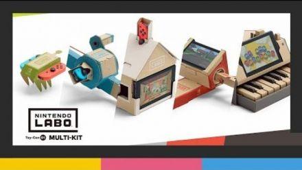 Vid�o : Nintendo Labo - Toy-Con 01 : multi-kit